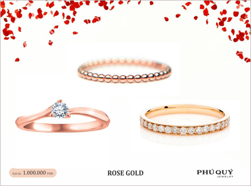 Vàng hồng – xu hướng trang sức mùa Valentine - 4
