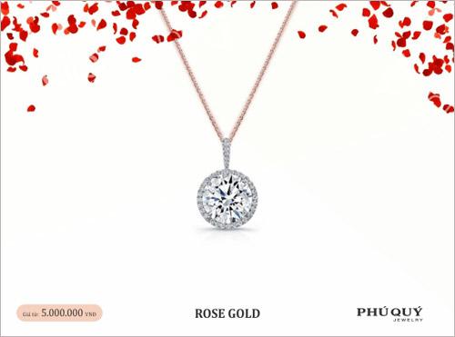 Vàng hồng – xu hướng trang sức mùa Valentine - 5