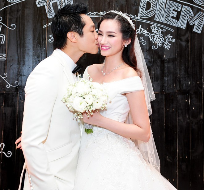 Khoảnh khắc khó quên trong đám cưới của sao Việt - 3