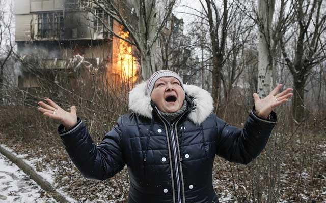 """Ukraine: Ảnh """"Chiến tranh là địa ngục"""" gây ám ảnh - 3"""