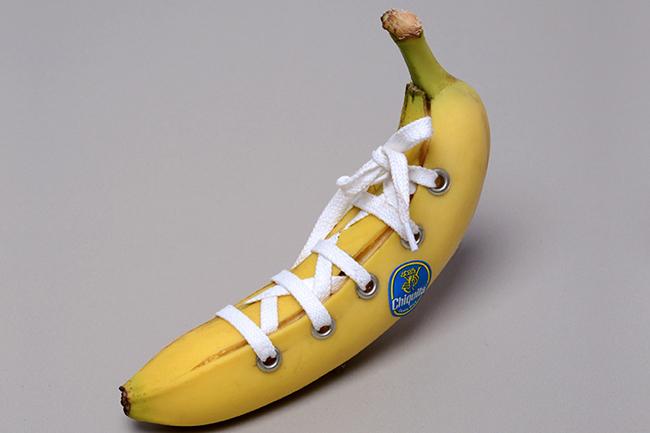 Chiếc giày làm từ quả chuối