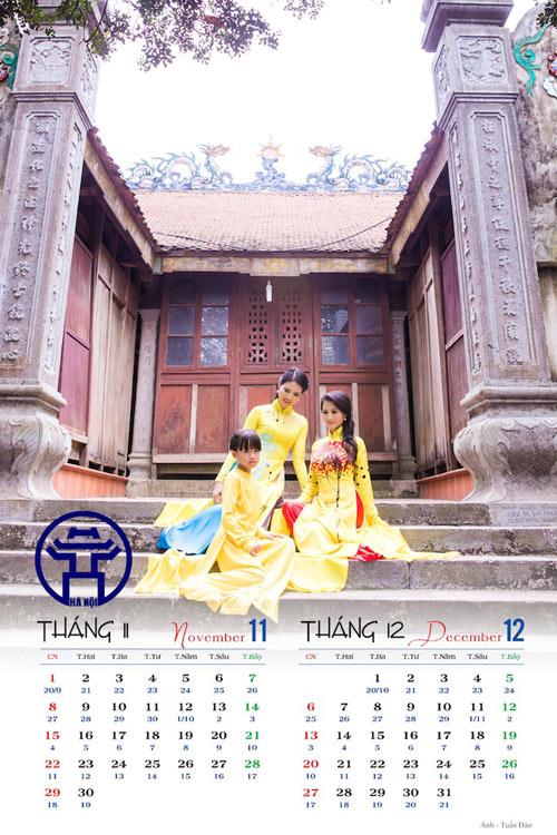 Hoa hậu Trần Thị Quỳnh đẹp dịu dàng trong ảnh lịch - 2