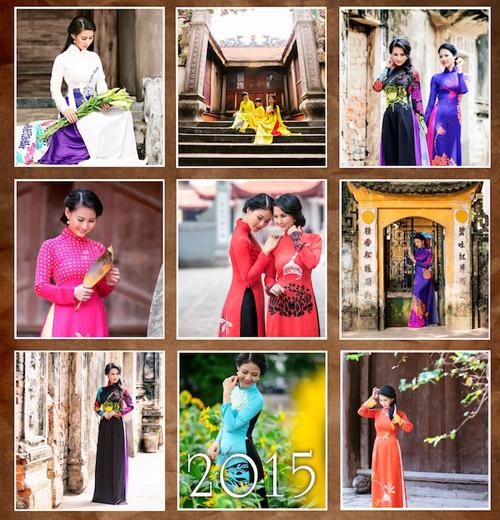 Hoa hậu Trần Thị Quỳnh đẹp dịu dàng trong ảnh lịch - 5