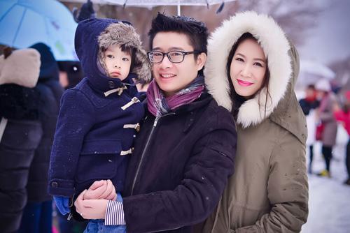 Vợ chồng hoa hậu Dương Thùy Linh hóa trang lạ lẫm - 8
