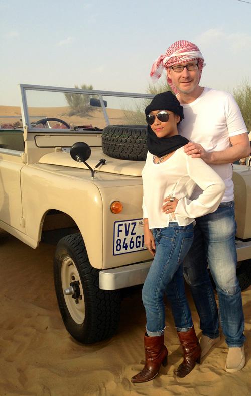 """Vợ chồng Đoan Trang trốn con đi """"trăng mật"""" ở Dubai - 1"""