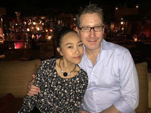 """Vợ chồng Đoan Trang trốn con đi """"trăng mật"""" ở Dubai - 3"""