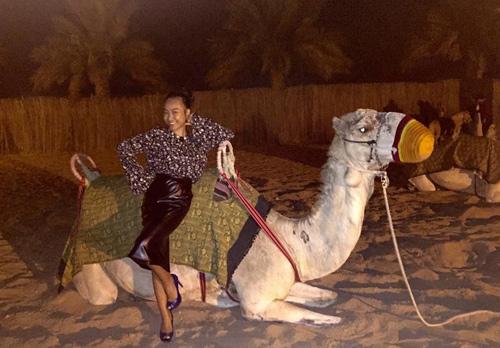 """Vợ chồng Đoan Trang trốn con đi """"trăng mật"""" ở Dubai - 6"""