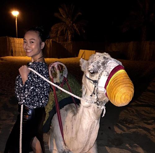 """Vợ chồng Đoan Trang trốn con đi """"trăng mật"""" ở Dubai - 7"""