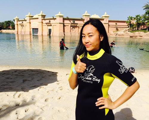 """Vợ chồng Đoan Trang trốn con đi """"trăng mật"""" ở Dubai - 10"""