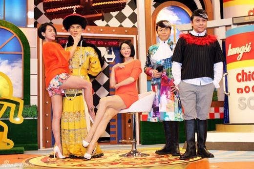 MC 3 con Đài Loan gây phản cảm trên truyền hình - 1
