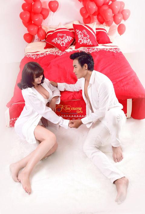 Quang Hòa, Ngọc Tình nóng bỏng bên mẫu tây - 6