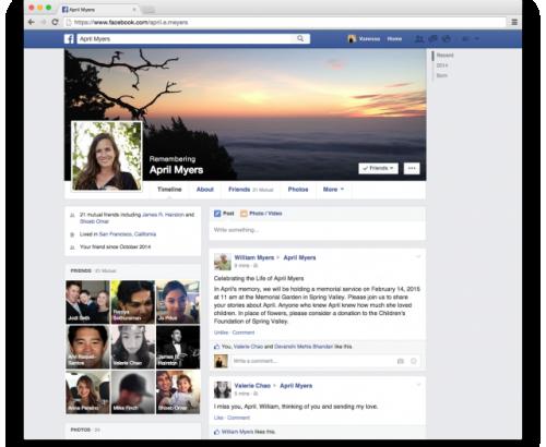 Facebook cho phép chọn người quản lý tài khoản sau khi chết - 1