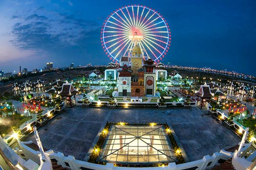 Công viên Châu Á – Điểm đến hấp dẫn trong dịp tết Ất Mùi - 1