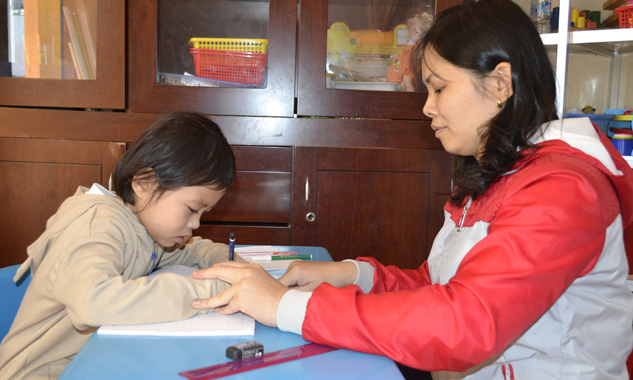 Lớp học giúp trẻ vượt qua tự kỷ - 1