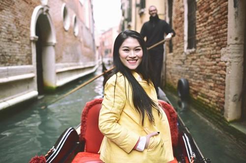 """""""Hiệp sĩ mù"""" Ngọc Thanh Tâm đón xuân trên sông nước Venice - 8"""