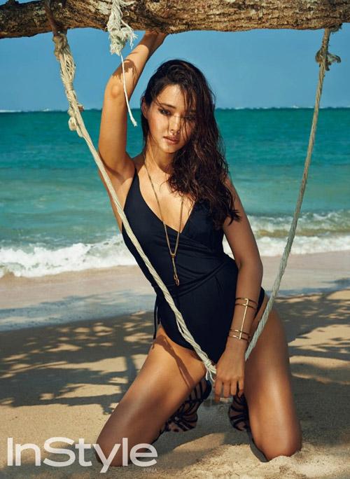 Cựu hoa hậu Hàn Quốc mát xa khỏa thân để giữ nhan sắc - 1