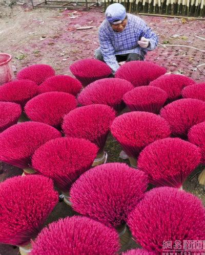 Bên trong làng làm hương nổi tiếng Trung Quốc - 7