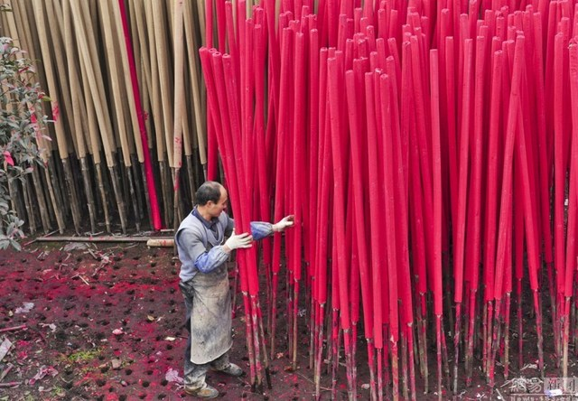 Bên trong làng làm hương nổi tiếng Trung Quốc - 8