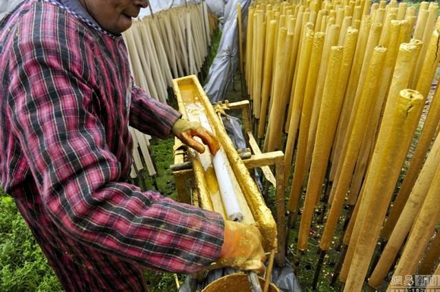 Bên trong làng làm hương nổi tiếng Trung Quốc - 13