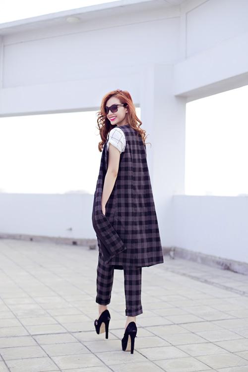Cựu hot girl Quỳnh Chi nuột nà xuống phố - 9