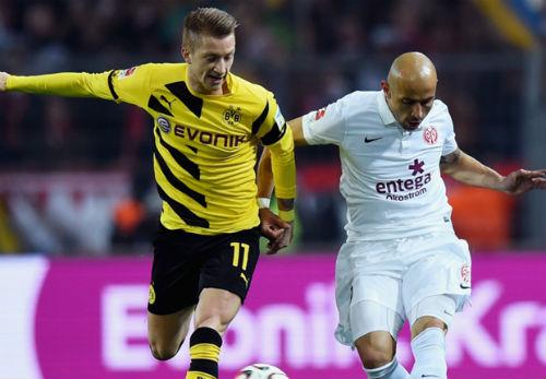 Dortmund - Mainz: Hiệp 2 bùng nổ - 1