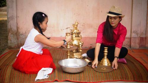 Diễn viên Thùy Trang háo hức về quê ăn Tết - 4
