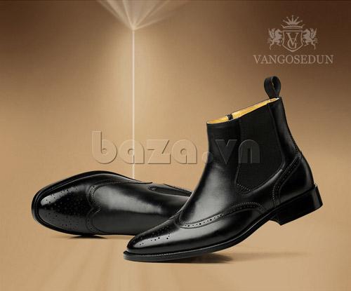 Tạo phong cách lịch lãm với giầy nam công sở Baza - 6
