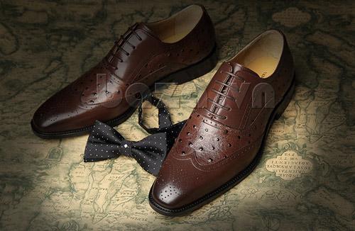 Tạo phong cách lịch lãm với giầy nam công sở Baza - 8