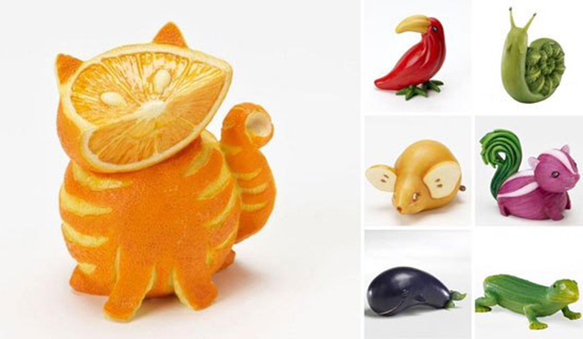 Những tạo hình độc đáo của rau củ quả - 10