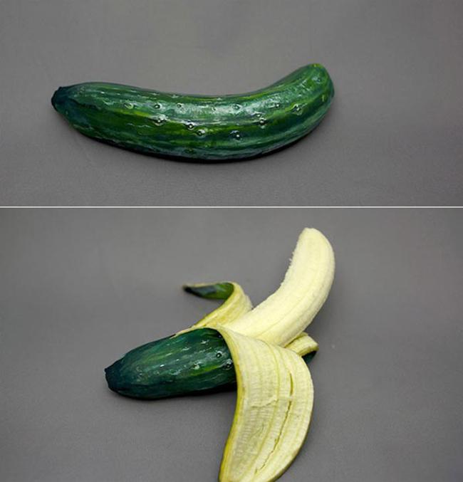 Những tạo hình độc đáo của rau củ quả - 7