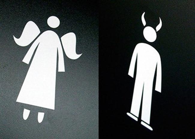 Bộ sưu tập biển báo WC cười không kịp nhịn - 2