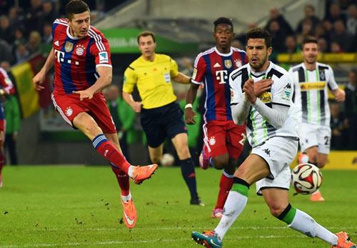 """Bayern - Hamburger: """"Hùm"""" vừa thức giấc - 2"""