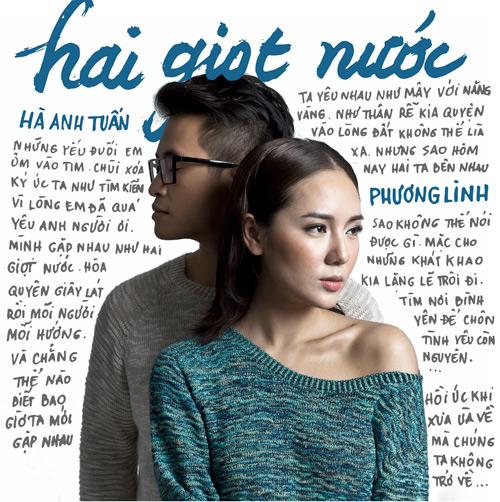 Phương Linh khoe vai thon tình tứ bên Hà Anh Tuấn - 1