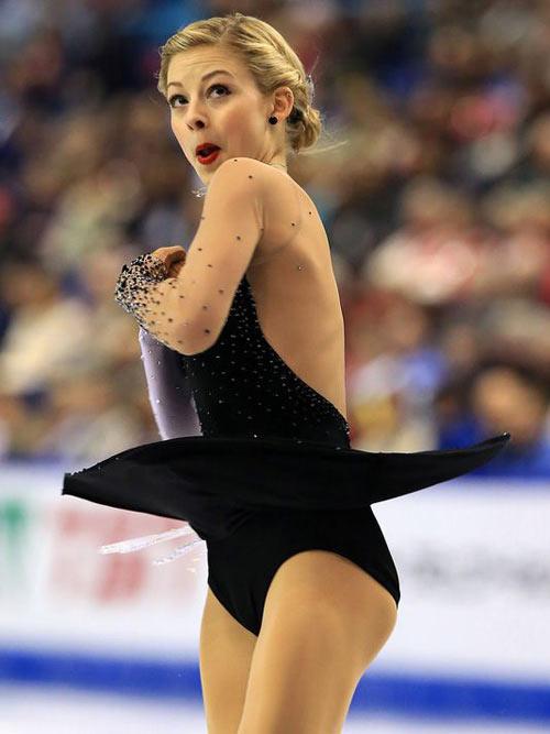 """Vẻ đẹp thơ ngây của """"Công chúa trượt băng tuổi teen"""" - 6"""