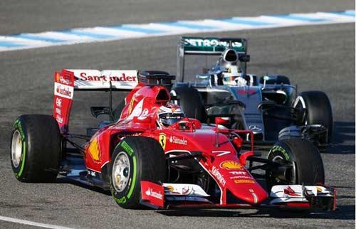 F1: Năm dê nói chuyện ngựa... xe - 1