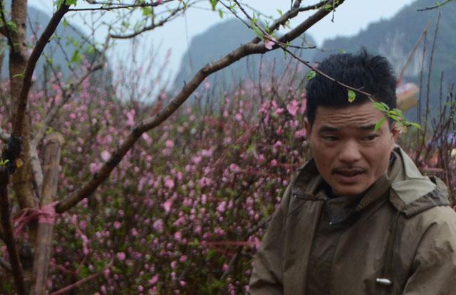 Chợ hoa xuân Hạ Long: Đào, mai tan tác dưới mưa rào - 12