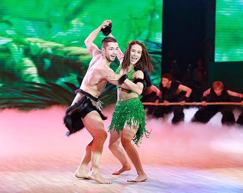 Angela Phương Trinh sa sút phong độ khi thi nhảy - 5