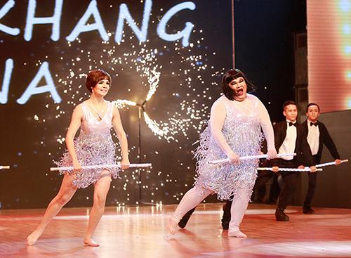 Angela Phương Trinh sa sút phong độ khi thi nhảy - 7