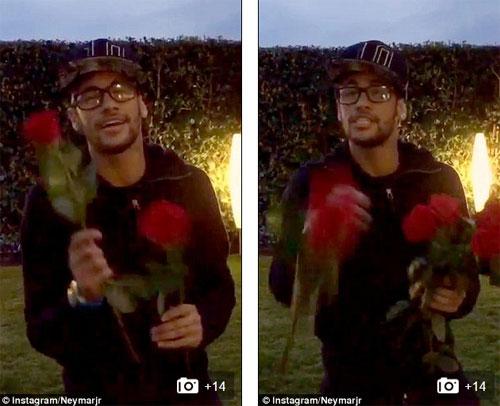 Valentine ngọt ngào của Neymar, Falcao - 1