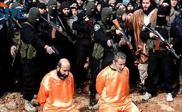"""IS công khai hành quyết """"gián điệp"""" giữa phố đông - 1"""