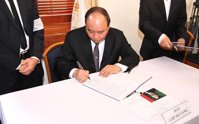 Tổng Bí thư, Thủ tướng viếng ông Nguyễn Bá Thanh - 3