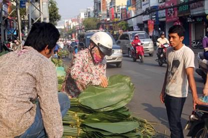 """Phiên chợ lá độc đáo """"năm 1 lần"""" giữa Sài Gòn - 7"""