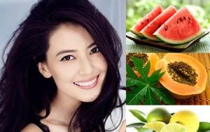 Tẩy tế bào chết, làm sạch da trước Tết bằng trái cây
