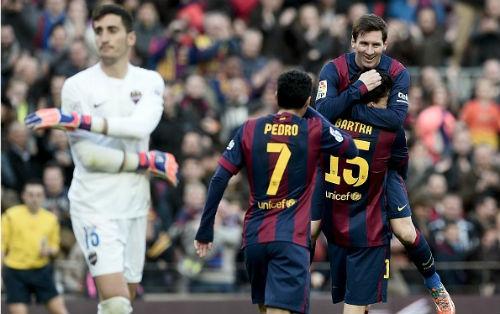 Barca – Levante: Tuyệt phẩm của Suarez - 1