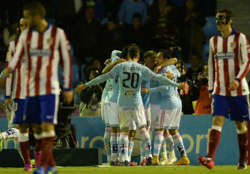 Celta Vigo - Atletico: Trái đắng hiệp 2 - 1