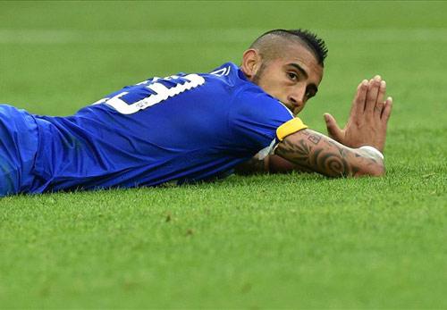 Cesena - Juventus: Tội đồ Vidal - 1