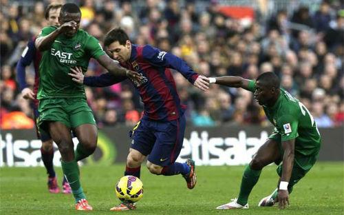 Tiêu điểm Liga V23: Chỉ riêng Real và Barca - 2