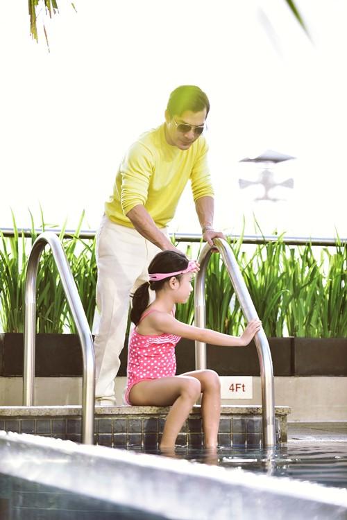 Trần Bảo Sơn ngưng việc, dành Tết cho con gái - 3