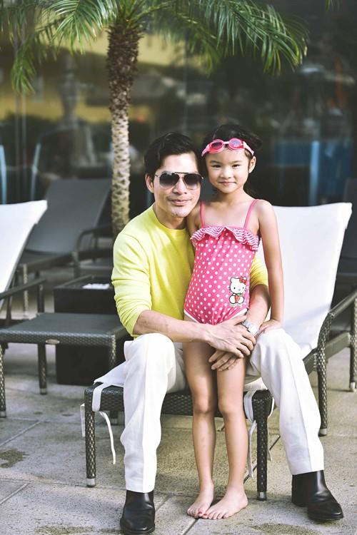 Trần Bảo Sơn ngưng việc, dành Tết cho con gái - 1