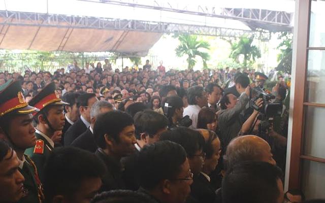Điếu văn xúc động tiễn biệt ông Nguyễn Bá Thanh - 2